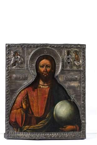 (19th c) RUSSIAN ICON