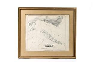 SKETCH OF PENSACOLA NAVY YARD & FORT PICKENS