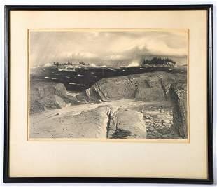 STOW WEGENROTH (1906-1978) LITHOGRAPH