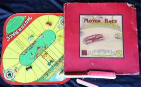 THE MOTOR RACE GAME by WOLVERINE SUPPLY CO