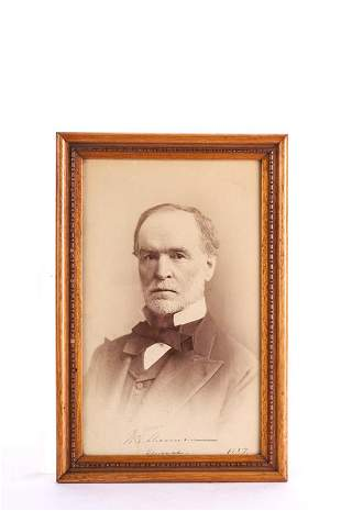 SIGNED PHOTOGRAPH of GENERAL WILLIAM SHERMAN