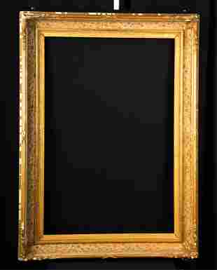 1850s AMERICAN COVE MOLDED PICTURE FRAME