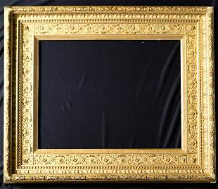 1870s AMERICAN COVE MOLDED PICTURE FRAME