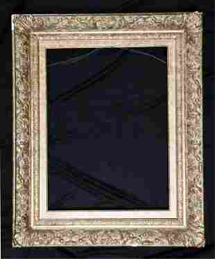 (19th / 20th c) BARBAZON STYLE PICTURE FRAME