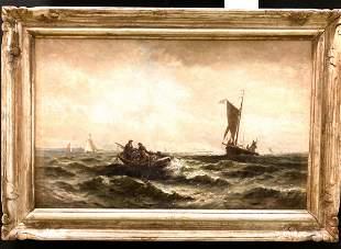 EDWARD MORAN (American 1829-1901) attr.