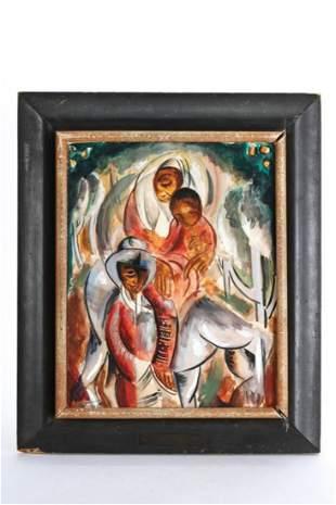MOSHE MATUSOVSKY (Polish 1908-1958)
