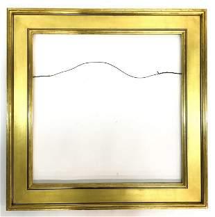 CUSTOM GOLD LEAF PICTURE FRAME