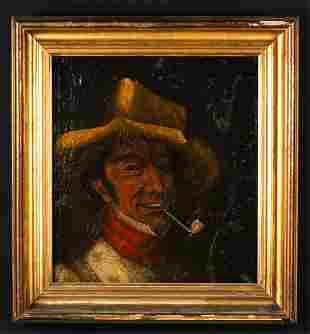 (19th c) AMERICAN FOLK ART