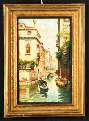 ITALIAN SCHOOL (19th / 20th c) Venice