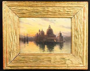 AMERICAN SCHOOL (19th c) Venice
