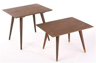 (2) PAUL McCOBB PLANNER GROUP GRADUATING STANDS