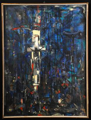 (Mid 20th Century) ABSTRACT