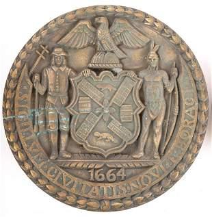 PAUL MANSHIP (1885-1966) Seal of New York City