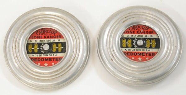 9: Two Official Lone Ranger Pedometers