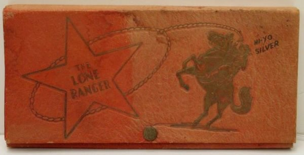 10: The Lone Ranger pencil box in red.