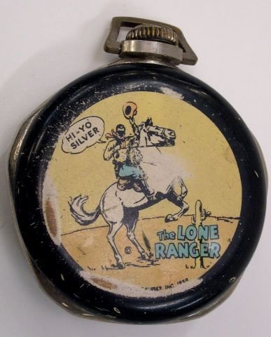 19: The Lone Ranger pocket watch.