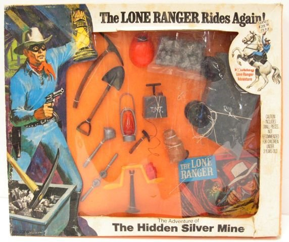 "21: The Lone Ranger Rides Again, accessory pack ""The Ad"