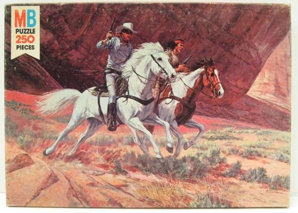 24: The Legen of The Lone Ranger, 250 pc. Puzzle by Mil