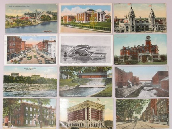 609A: Collection of over Five Hundred Postcards of Main