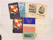575A: Collection of twelve passenger lists