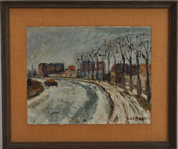 3: Yves Becon, France (1907-2004) Winter