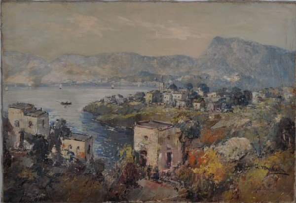 7: Ugo Maresca, Canada (20th century) Mediterranean Coa