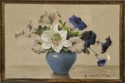 18 Mae Bennett Brown American 18871973 Floral Stil