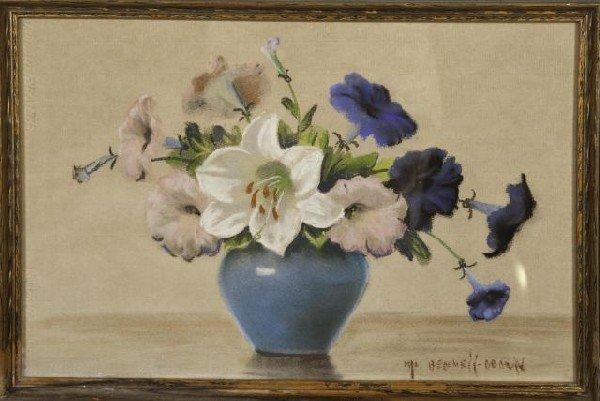 18: Mae Bennett Brown, American (1887-1973) Floral Stil