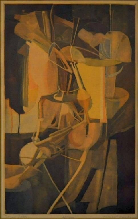 19: Jacques Villon (1875-1963) Marcel Duchamp (1887-196