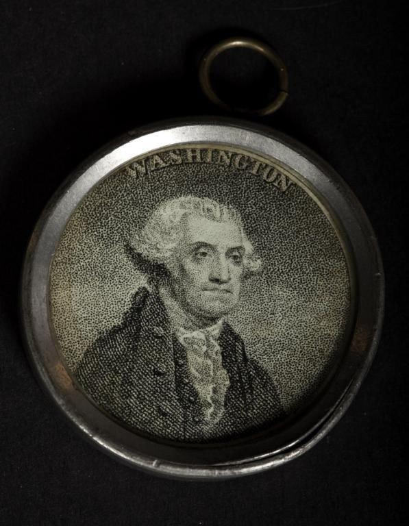 416: Rare 18th/19th C commemorative inaugural souvenir