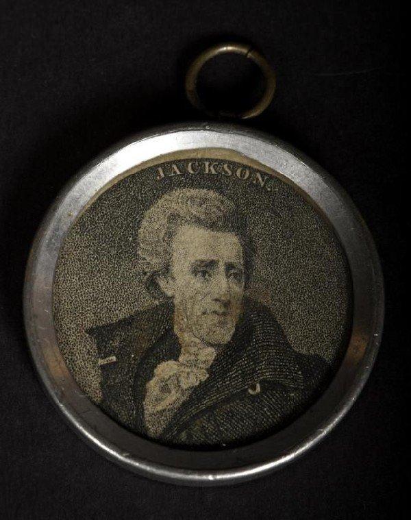 416A: Rare 18th/19thC commemorative inaugural souvenir
