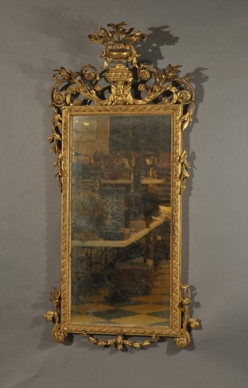 15: Late 19th Century Louis XVI style carved and gilded