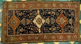 Late 19th C. Tribal Persian Afshar Rug