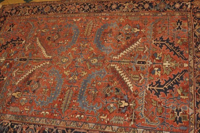 4A: Early 20th Century Persian Heriz room size