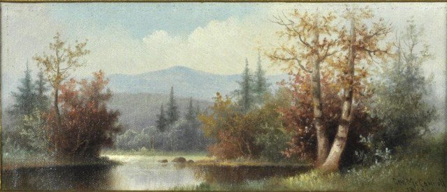 13: George McConnell, American (1852-1929) Mountain
