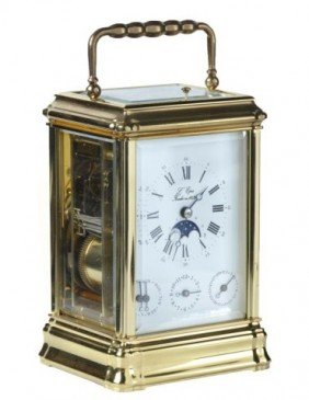 20th Century French Repeating Carriage Clock