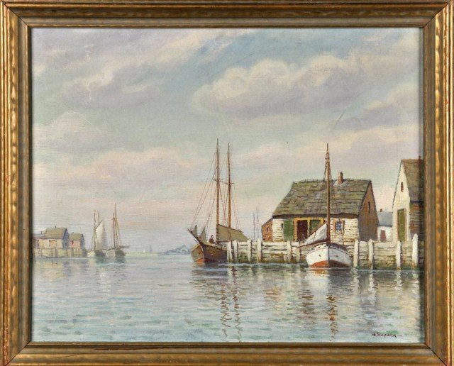 80: William Paskell, American (1866-1951) Nantucket