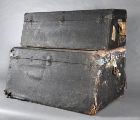 Two 19th Century Very Rare Louis Vuitton Trunks
