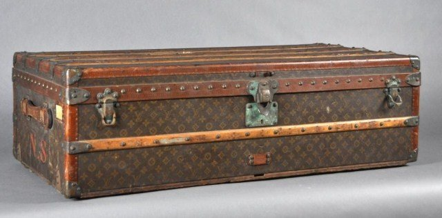 97: Louis Vuitton vintage trunk, early 1900s