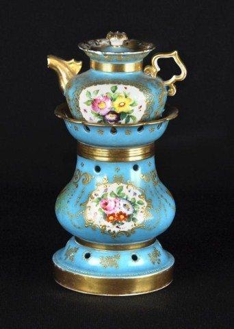 121: Paris Porcelain Veilleuse