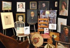 Prop Chair Used In Lilian Westcott Hale Painting