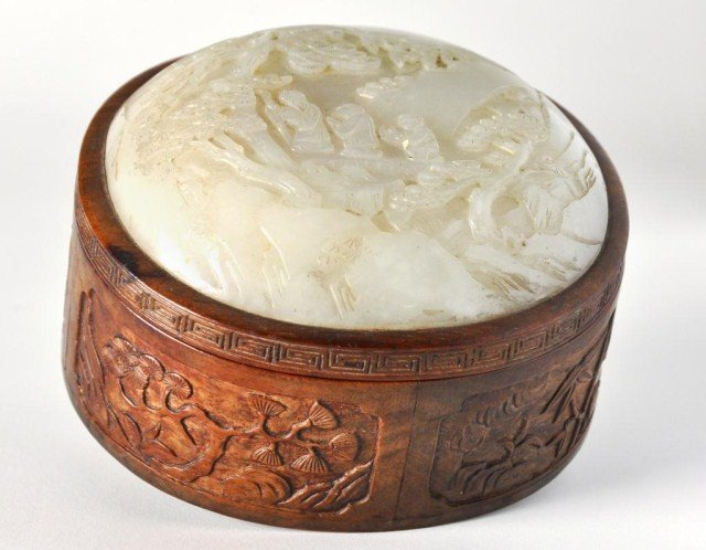 61: Chinese  Qing dynasty box