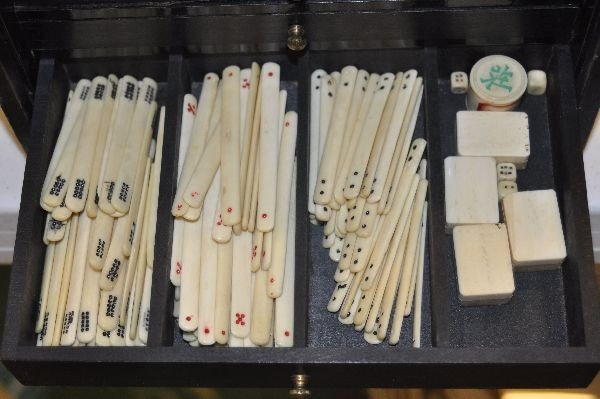 188: Cased Mah jong set - 4