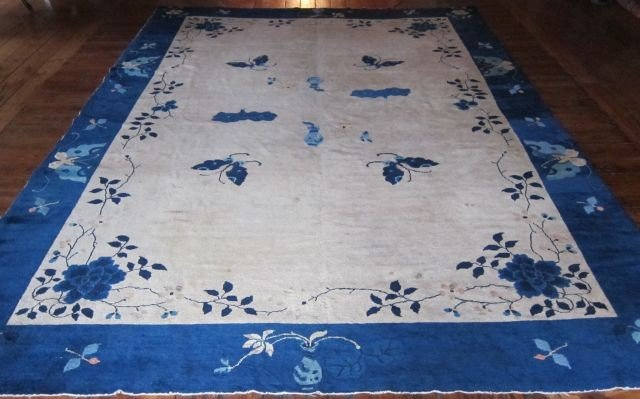 51E: Early 20th century Chinese Peking rug