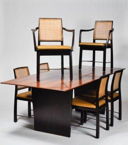 1: Dunbar extension dining table