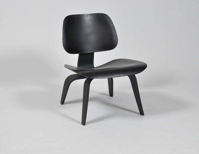 2: Mid Century ebonized side chair