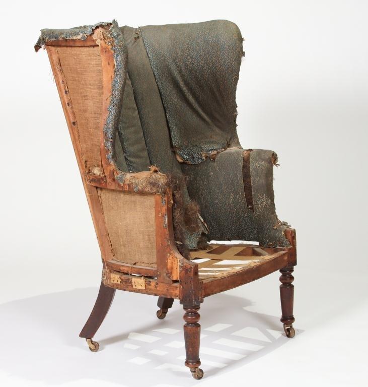Sheraton Period American Barrel-Back Ladies Chair