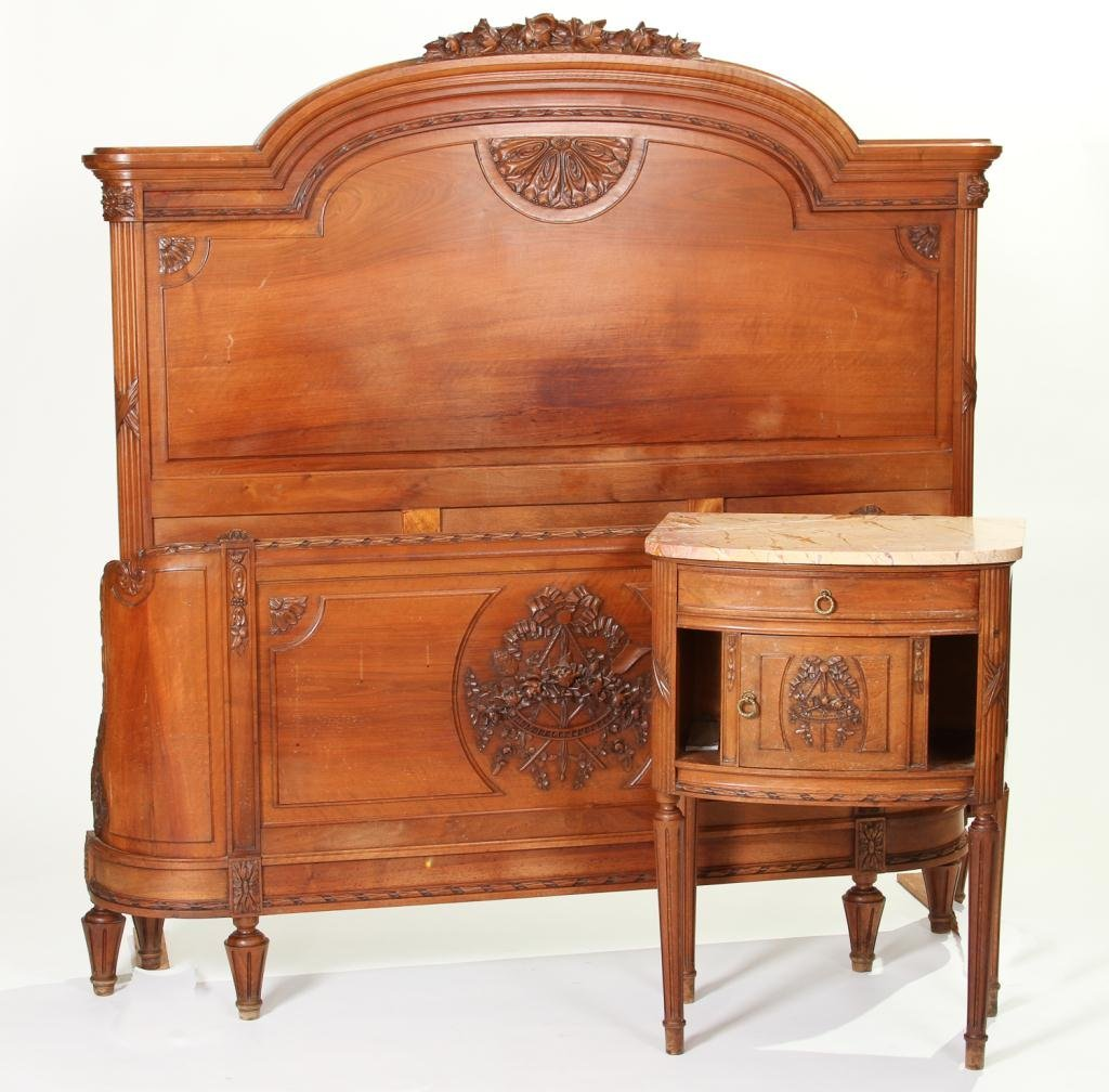 Victorian French Bed