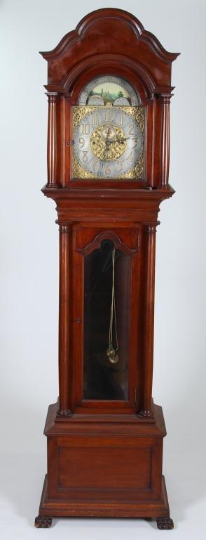 Mahogany Grandfather's Clock