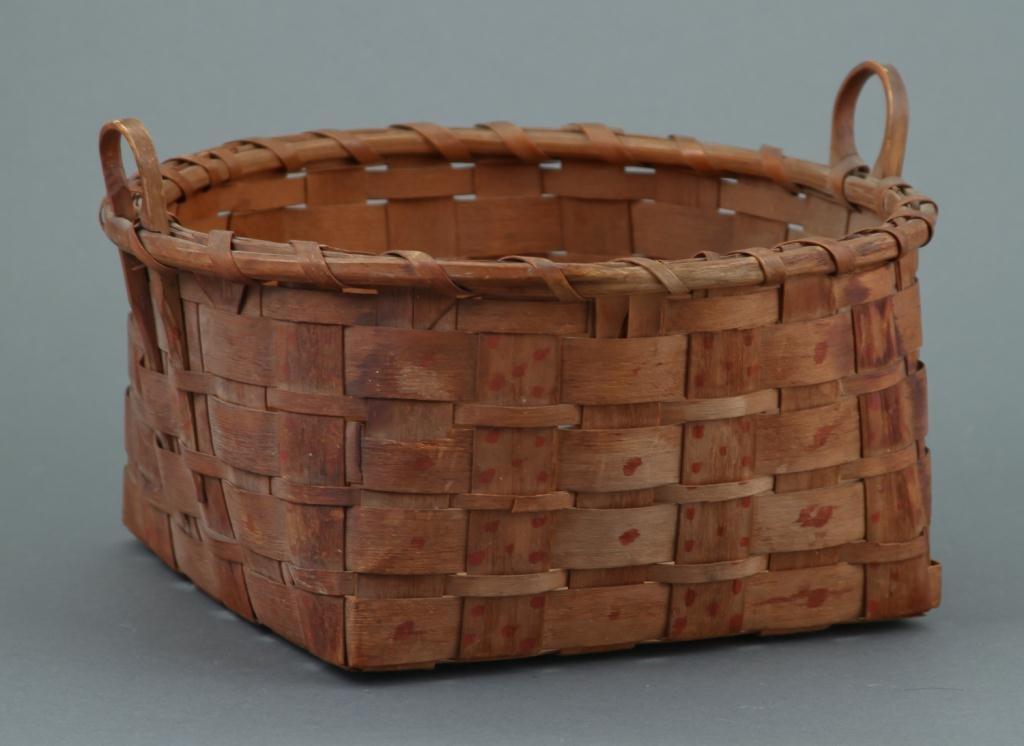 Maine Native American Basket